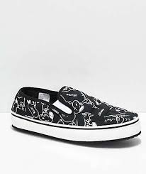 vans shoes black and white 2016. vans x peanuts slip-er snoopy black \u0026 white shoes and 2016