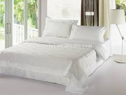 40s 250t sateen plain white queen size luxury bedding patchwork with duvet cover pillow
