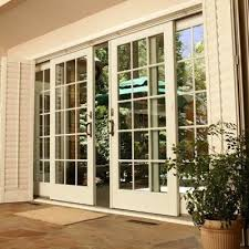 french wood patio doors in central illinois