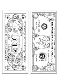 Money Coloring Pages Print Dropnewsme