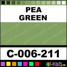 Pea Green Stains Ceramic Porcelain Paints C 006 211 Pea
