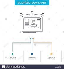 Interface Website User Layout Design Business Flow Chart