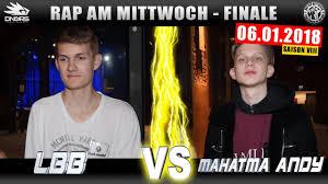 Rap Am Mittwoch Leipzig Lbb Vs Mahatma Andy 060118 Battlemania
