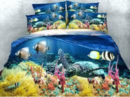 sea bedding sets sea turtle bedding sea fish turtle ocean bedding set quilt duvet cover bed