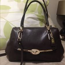 Coach Bags - COACH MADISON MADELINE EAST WEST SATCHEL