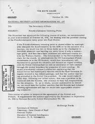 national security action memorandum number john f kennedy  national security action memorandum number 107
