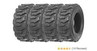 Bobcat Tire Size Chart Set Of 4 New Zeemax Heavy Duty 10 16 5 10pr G2 Skid Steer Tires For Bobcat W Rim Guard