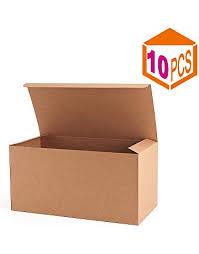 mesha recycled gift bo 9x4 5x4 5 inch brown paper bo 10pcs kraft favor