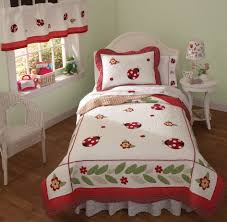 Ladybug Bedroom Bedroom Pretty Bedroom Valance And Curtain For Window Decorations