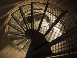 spiral staircase lighting. Light Architecture Spiral Line Descent Lighting Staircase Circle Stairs Symmetry Down Tourist Attraction Dome Shape R