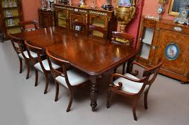 Dining Room Table And 8 Chairs Dining Mg 2139 Dining Mahogany Empire Dining Table Measuring Ohkaco