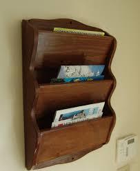 wood magazine rack wall mounted wooden ideas staggering image target hanging wood magazine rack wall o39 rack