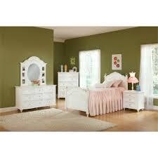 Princess Bedroom Furniture Princess Bedroom Bed Dresser Mirror Full 22862 Conns