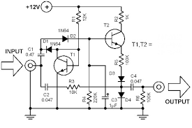 voice changer circuit diagram the wiring diagram electronic circuits diagrams schematics pcb designs circuit diagram