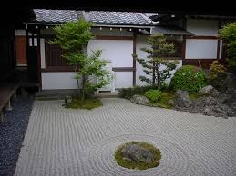 Lawn & Garden:Amazing Japanese Garden With Footstep And Sandy Stone With  Japanese Look Fresh