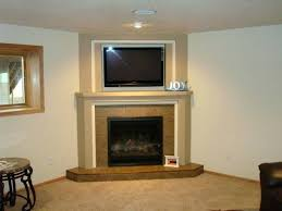 fireplaces designs corner fireplace idea design pertaining to inspirations rock with tv above