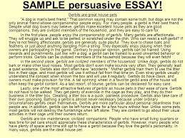 an example of a persuasive essay drafting outline of a sample persuasive essay ppt download