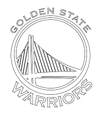 nba coloring pages printable image simple golden state warriors within