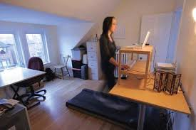 architect home office. Canadian Architect Editor Elsa Lam Works At Her Treadmill Desk Home Office. Office