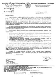Kw Conferences K W Conferences Letter Of Appreciation Given By