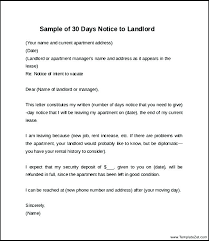 move out letter to landlord sle exle of day notice vacate template 60