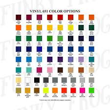 Oracal Vinyl Color Chart Pdf Vinyl Color Options Chart For Store Owners Color Mockups