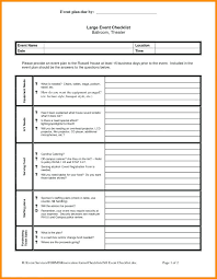 Banquet Checklist Template Catering Checklist Template Event Basic Or Banquet Format
