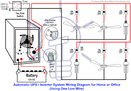 wiring diagram for ups system wiring diagrams second automatic ups inverter wiring connection diagram to the home automatic ups inverter system wiring diagram