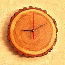 chaney wall clock rustic wood wall clock rustic chaney wire wall clock