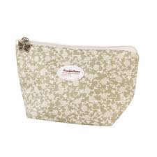fashion cosmetic bag flower print makeup case make up box pouch travel toiletry wash organizer necessaire