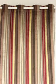 Maroon Curtains For Bedroom Aliexpresscom Buy Vezo Home Multi Burgundy Stripes Velvet