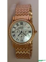 cartier rose gold plated watches jewelry accessories cartier rose gold plated chain watch for men watches jewelry accessories for