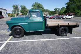 Chevrolet: Other Pickups L25 1955 chevy 3800 1 ton flat bed very ...