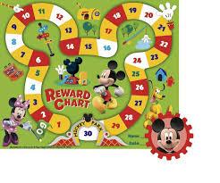 Eureka Mickey Mouse Clubhouse Mickey Park Mini Reward Chart Plus Stickers