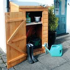 small outdoor wood storage shed diy garden tool