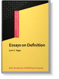 essays on definition juan c sager tlrp