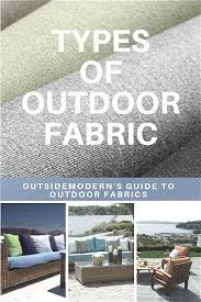 types of outdoor fabric outdura vs