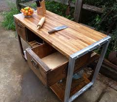 vintage and industrial furniture. A RETRO INDUSTRIAL CHEF\u0027S DELIGHT KITCHEN ISLAND Vintage And Industrial Furniture E