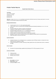 Teachers Resume Sample | Sample Resume And Free Resume Templates