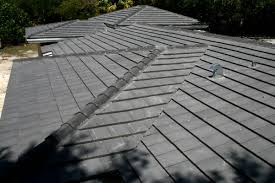 charcoal flat cement roof tile roof repairs new roofs in miami houses with ceramic tile roofing