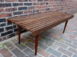 Slatted Coffee Table Tables Found By Faited