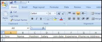 how to make a sheet in excel employee data sheet create a data sheet