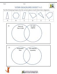 Online Venn Diagram Practice Venn Diagram Worksheet 4th Grade