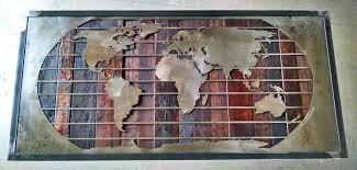 wall metal arts mural sculptures world map wall art framed reclaimed wood metal corporate color chart dark stained great metal wall art uk birds
