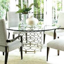 amazing home appealing glass top dining table round at halo ebony tables with crate and