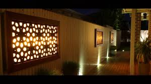 outdoor metal art for house interesting design outdoor wall art ideas featuring rectangle shape wooden art wall decor with led lights and wooden craft wall