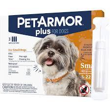 Flea Tick Prevention Comparison Chart Petarmor Plus For Dogs Flea And Tick Prevention For Small Dogs 5 22 Pounds Long Lasting Fast Acting Topical Dog Flea Treatment