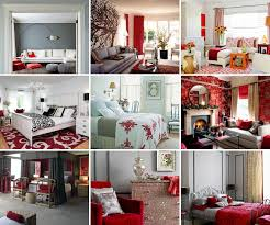 Red And Gray Living Room Red And Gray Home Decor Archives Honeysuckle Life