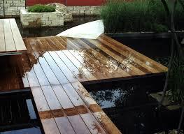 Construction D Overwater Wooden Deck