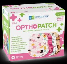 Girls 40 Pack Opthopatch